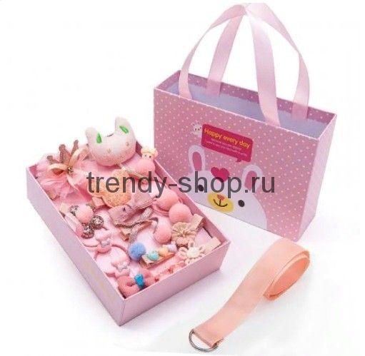 Подарочный набор заколок для девочек, 18 предметов