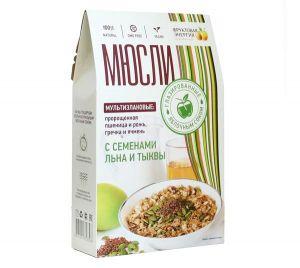 Мюсли из пророщенной пшеницы и ржи с солью 300гр*17шт (ВкусноЕм!®)