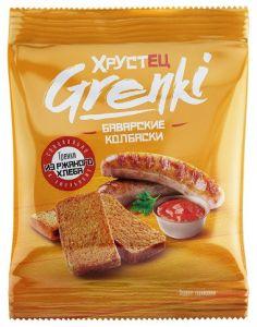 Гренки Хрустец со вкусом бекона 80гр