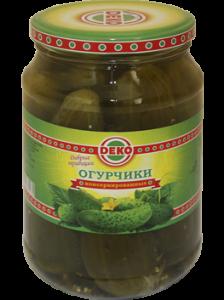 """Огурцы консерв 6-9см 950 гр """"Деко"""" ГОСТ"""