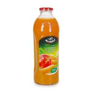 Нектар морковный-яблочный Arshani 1л стекло