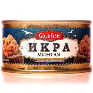 Икра минтая GoldFish, ключ 120 г /18