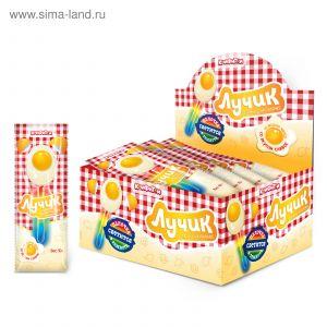 Карамель на светящ. палочке 10 гр лучик/яичница вкус манго