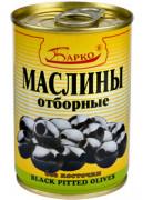 Маслины с косточкой 280 мл ж/б (Барко)