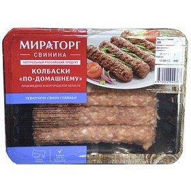 Колбаски (чевапчичи) по-домашнему ГЗМС 300*8 (2.4кг) Мираторг С018197