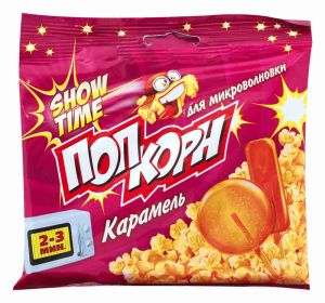 Попкорн СВЧ Snow Time Карамель 80 гр