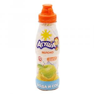 Вода и сок Агуша Яблоко-виноград 0,3л*6