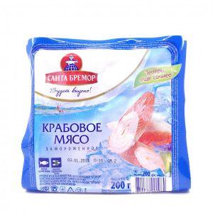 Мясо крабовое имитация 200 гр Бремор