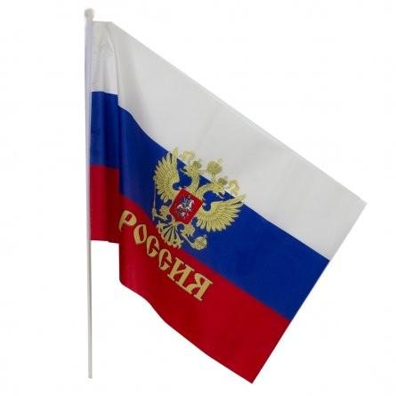 Флаг России 90х65 см