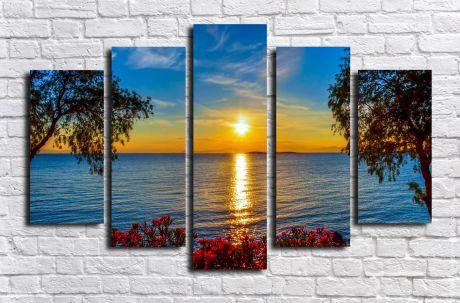 Модульная картина Пейзажи и природа 98