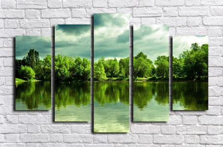 Модульная картина Пейзажи и природа 118
