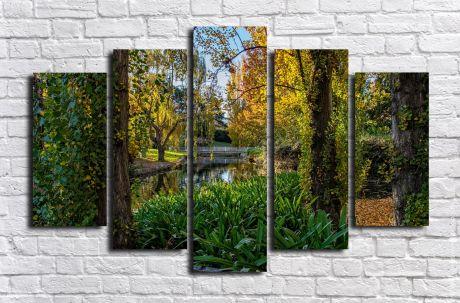 Модульная картина Пейзажи и природа 121
