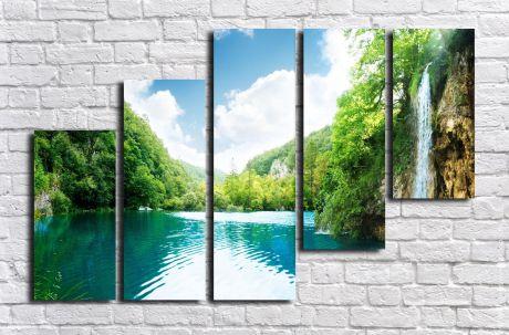 Модульная картина Пейзажи и природа 122