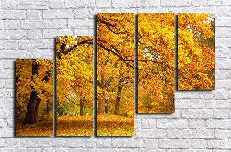 Модульная картина Пейзажи и природа 123