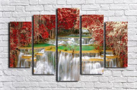 Модульная картина Пейзажи и природа 135