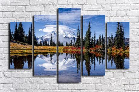 Модульная картина Пейзажи и природа 137