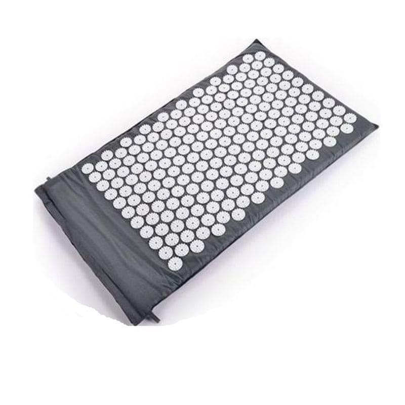 Массажный акупунктурный коврик Acupressure Mat, серый