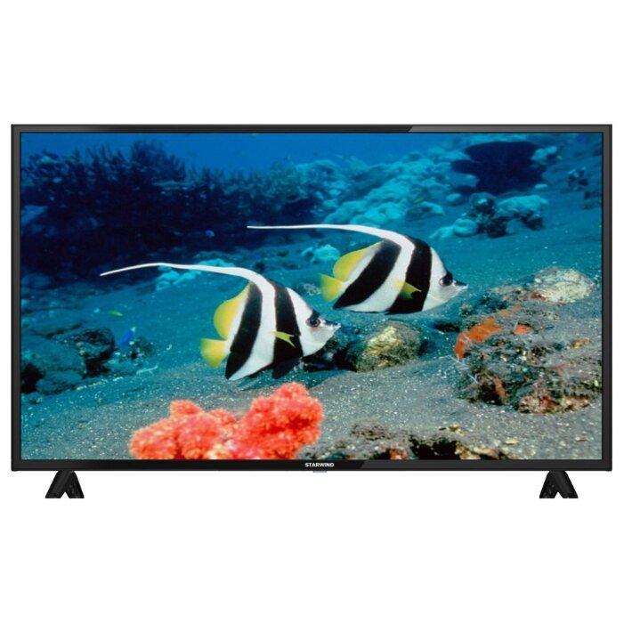 "Телевизор 43"" Starwind SW-LED43BA201: 1920x1080, 220кд/м2, 3000:1, 176°, 6.5мс,"