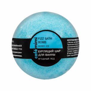 """""""КК"""" mimi Бурлящий шар для ванны Ягодный лед, 120 гр"""