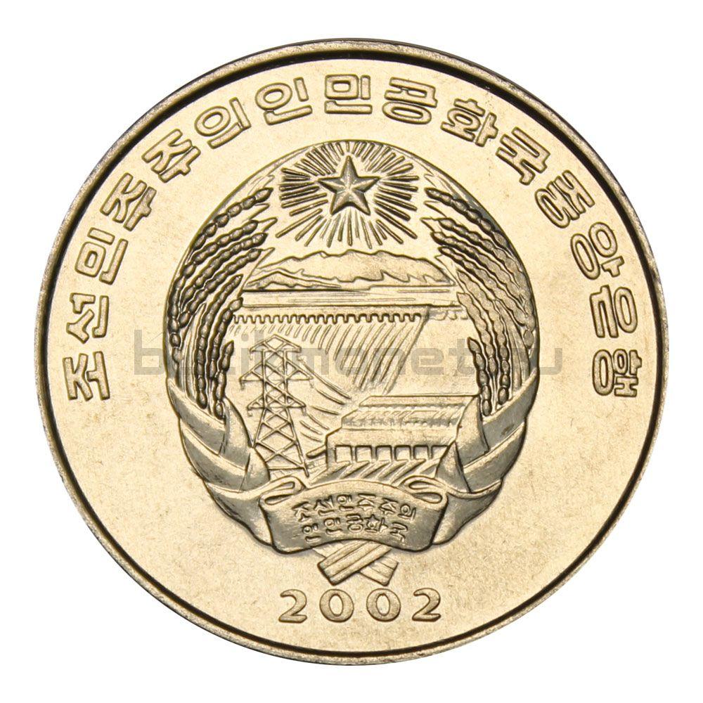 1/2 чона 2002 Северная Корея Цесарка (Мир животных)