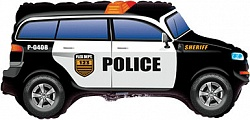 Полицейская машина шар фольгированный с гелием