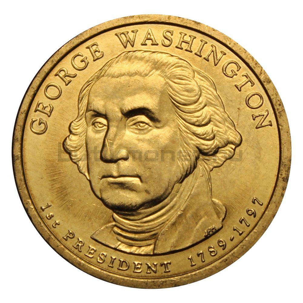 1 доллар 2007 США Джордж Вашингтон (Президенты США)
