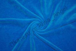 Темно-синий велюр отрез 0,3м