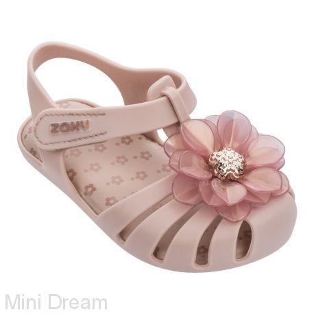 Сандали детские светло-розовые