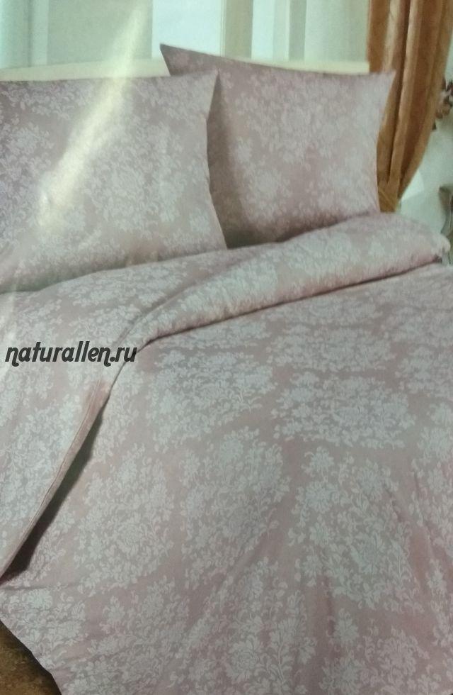 Постельное белье цвет розовый