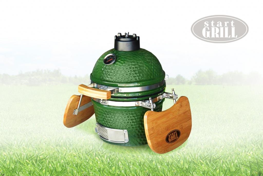 Start Grill 12 зеленый гриль