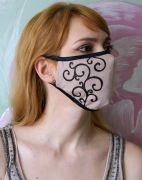 Многоразовая маска на резинке.