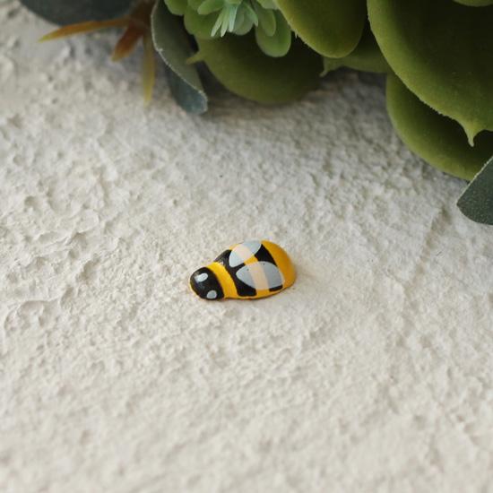 Деревянные пчёлки - Кукольная миниатюра, 1.5 см
