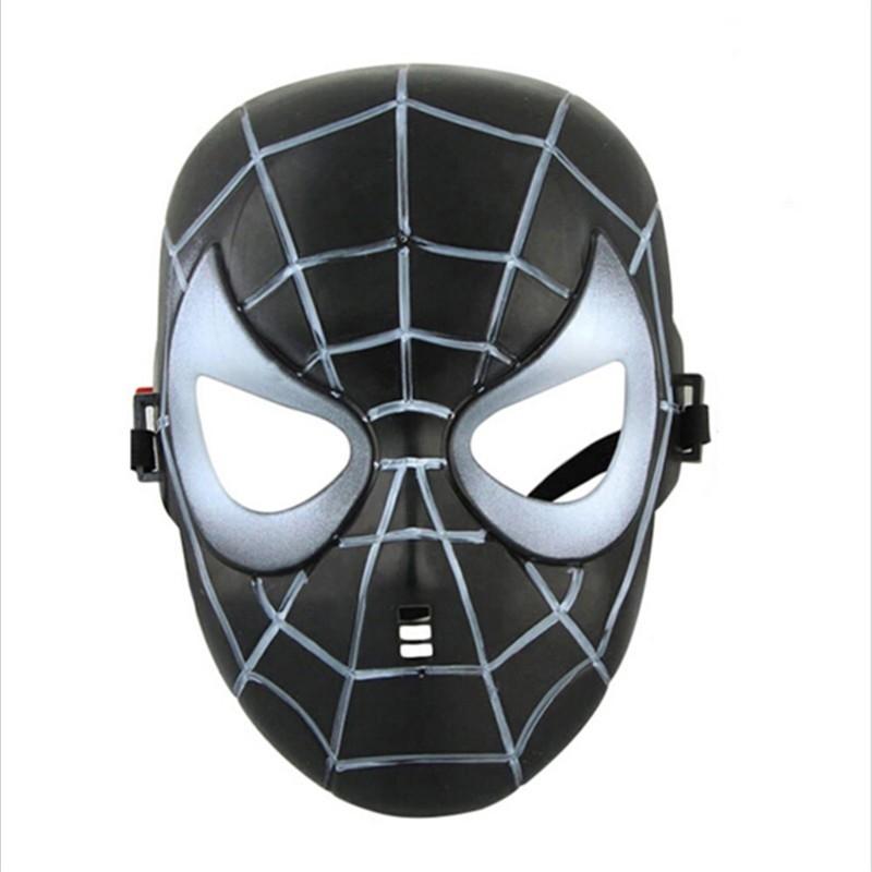 Детская черная маска Спайдермена