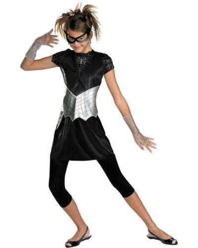 Детский костюм Черной Спайдергерл