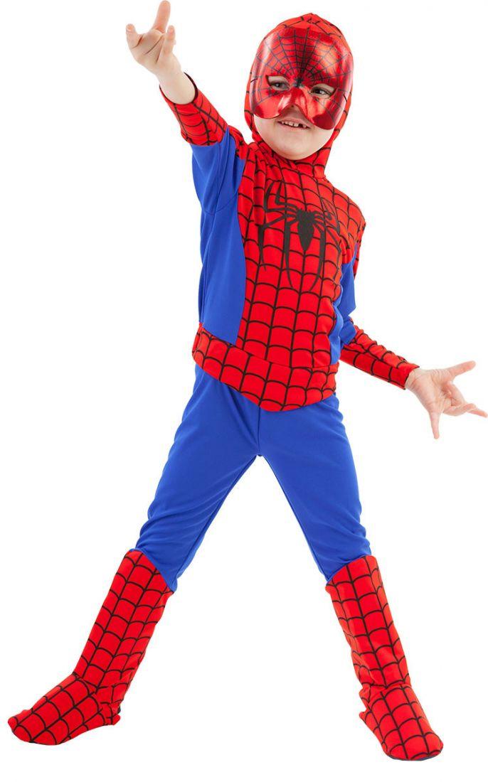 Детский костюм храброго Человека Паука