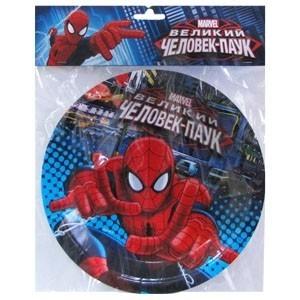 Бумажные тарелки Человек Паук