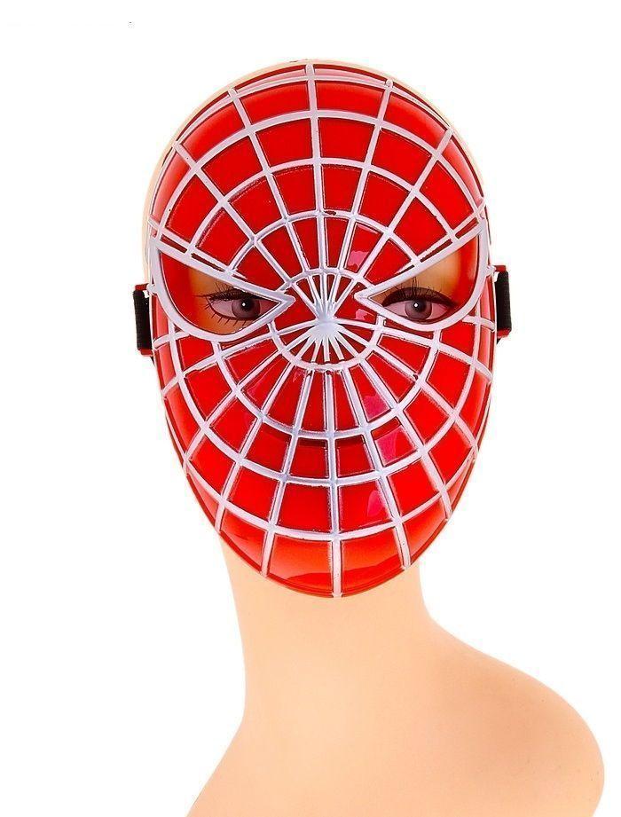 Пластиковая маска Спайдермена