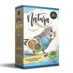 SECRET Natura Зерносмесь для попугаев в период линьки