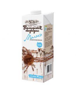 Молоко ФЕРМЕРСКОЕ ПОДВОРЬЕ Edge 1,5% 1л