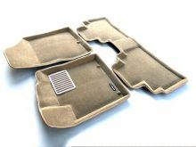 Коврики в салон, Euromat 3D Люкс, 2 цвета велюра