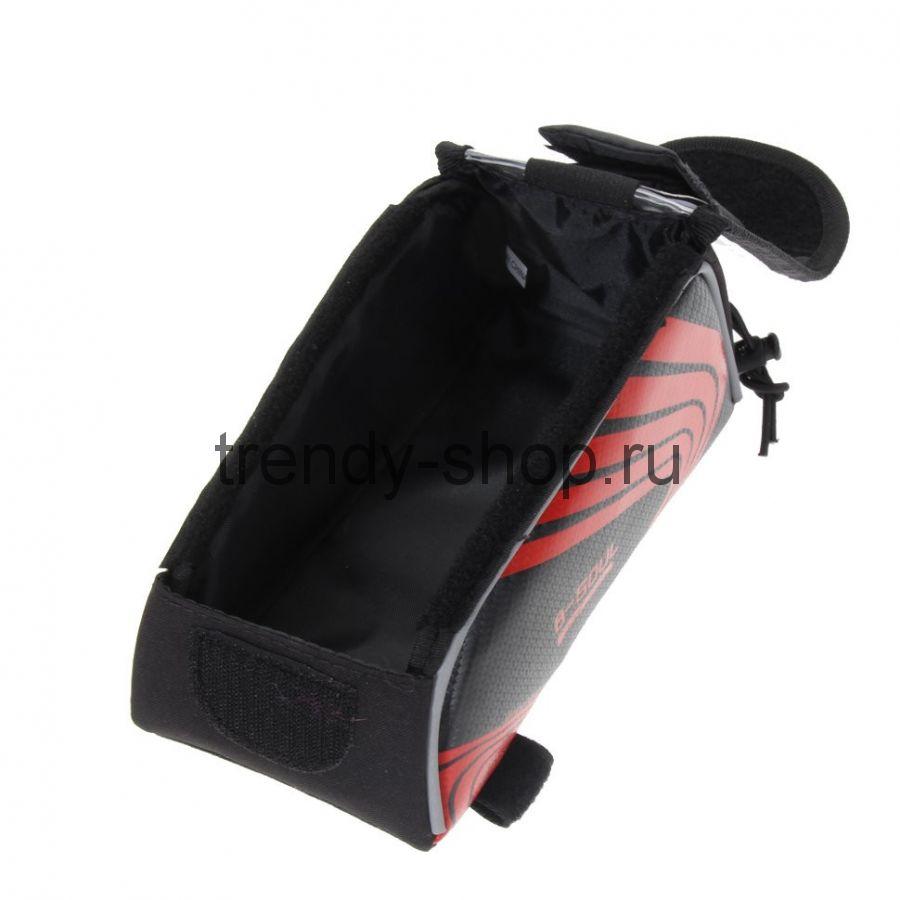 Велосипедная сумка на раму под смартфон B-Soul, 21х9,5х9,5 см