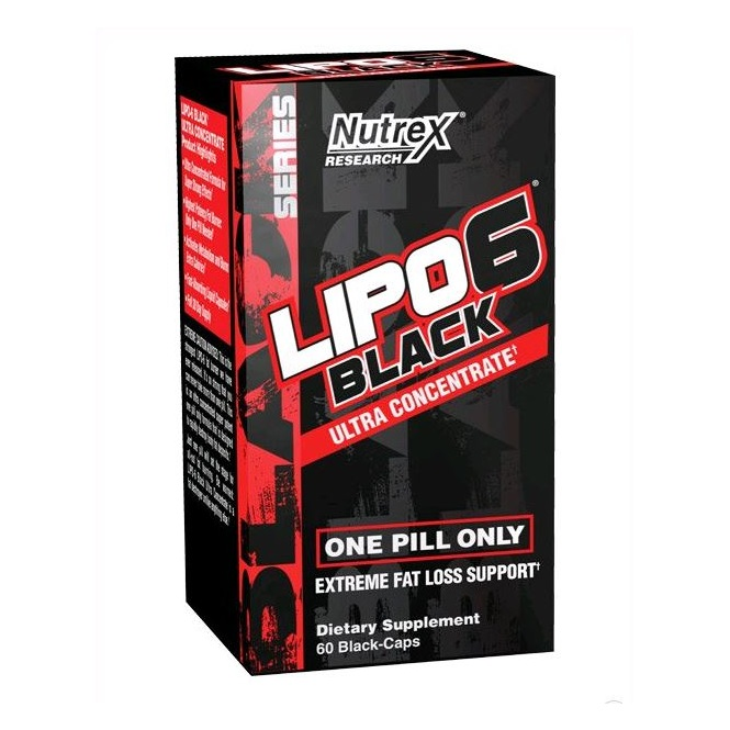 Nutrex - Lipo6 Black Ultra Concentrate Teacrine (60 капс)