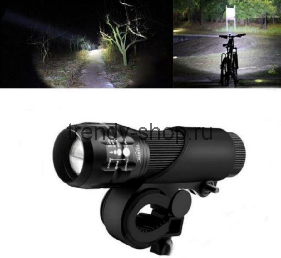 Велосипедное крепление на руль для фонарика