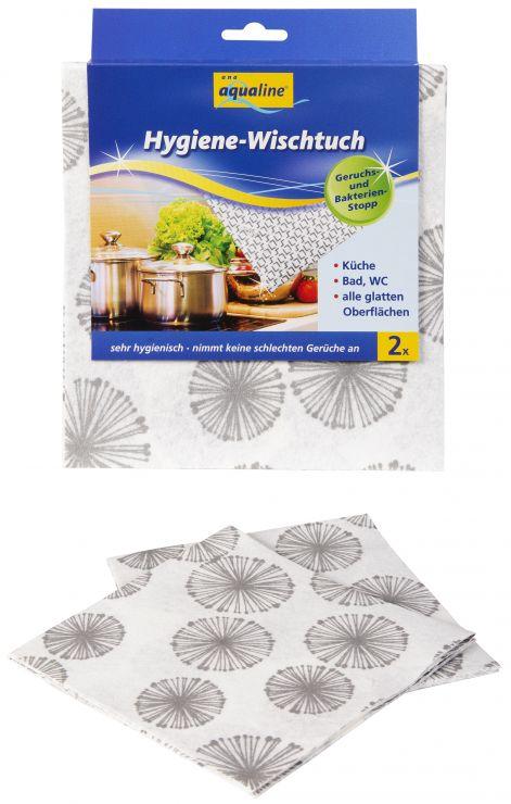 Aqualine Гигиеническая салфетка с Нано-серебром 2 шт