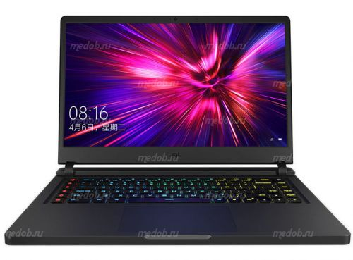 "Ноутбук Xiaomi Mi Gaming Laptop 2019 (Intel Core i7 9750H 2600 MHz/15.6""/1920x1080/16GB/512GB SSD/DVD нет/NVIDIA GeForce RTX 2060/Wi-Fi/Bluetooth/Windows 10 Home) Black JYU4144CN"