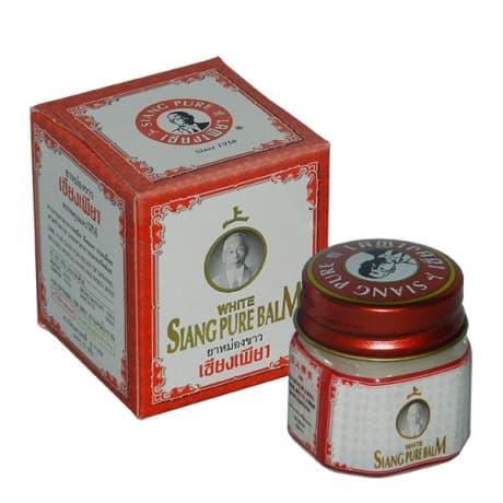 Siang Pure Balm тайский Белый бальзам 12 гр