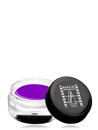 Make-Up Atelier Paris Gel Color Waterproof CGRV Purple pink Краска гелевая водостойкая розово-фиолетовая