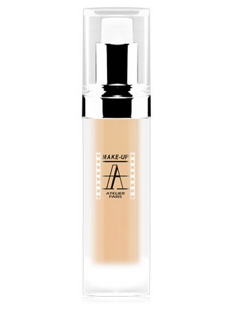 Make-Up Atelier Paris Anti-Aging Fluid Foundation Beige AFL2NB Ultra clear beige Тон-флюид антивозрастной 2NB нейтральный светло-бежевый