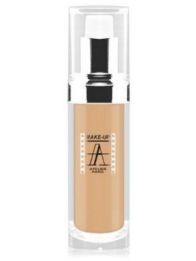 Make-Up Atelier Paris Fluid Foundation Gilded FLW2Y Yellow clear Тон-флюид водостойкий 2Y светло-золотистый