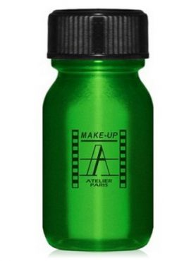 Make-Up Atelier Paris Aquacream AQVE Green Акварель жидкая кремовая зеленая